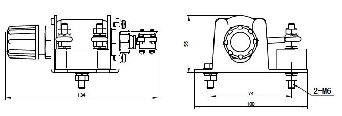额定电流:5、10、15、20、30、40、60、      75、100、150、200、300A 使用条件:-25~+40内 动作特性:倍数 时间      1 长期不动作      1.5 <3分钟 热态      2.5 10s6s 热态      6 <1-3s 热态 触头发热电流:5A 外形尺寸:10055134mm