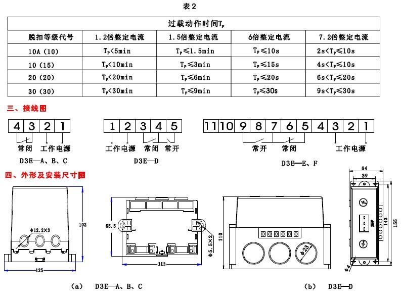 cad3e电机综合保护器